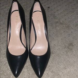 BCBGeneration Black Leather Pumps